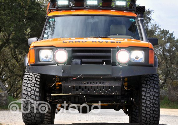 Land Rover Discovery G4 3.9 V8 Challenge